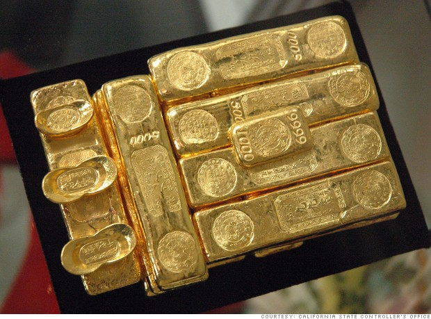 unclaimed property gold bars