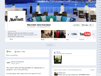 marriott facebook page