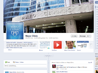 mayo clinic facebook page