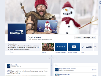 capital one facebook page