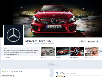 mercedes-benz usa facebook