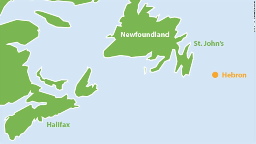 exxon map