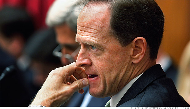 senator pat toomey 