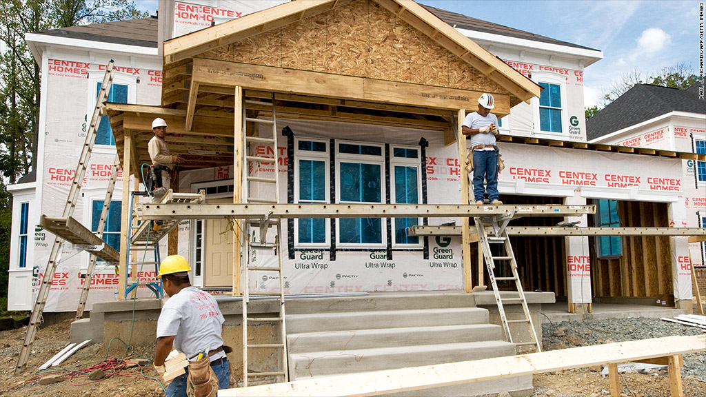 new housing starts building permits