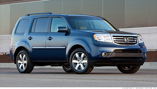 2012 honda pilot recall