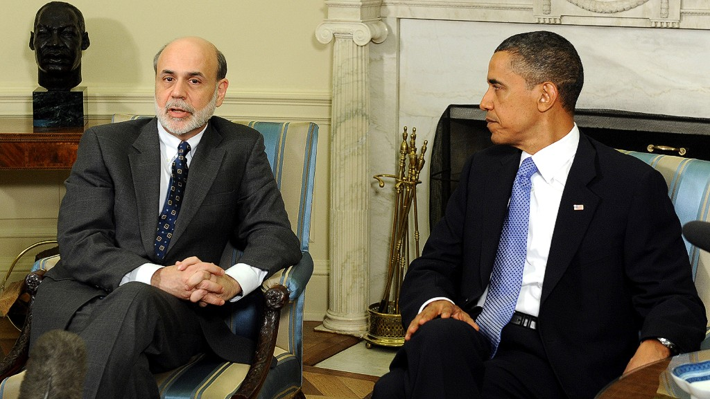 bernanke obama reappointment