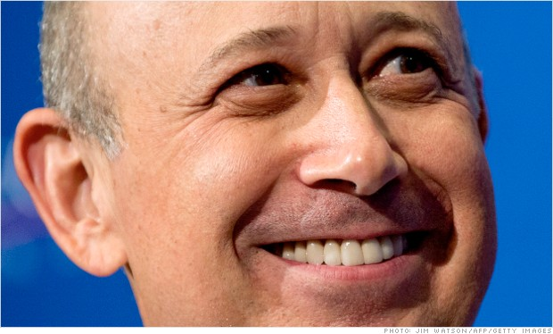 lloyd blankfein 2012 pay