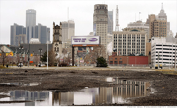 Detroit Most Dangerous U S Cities Cnnmoney