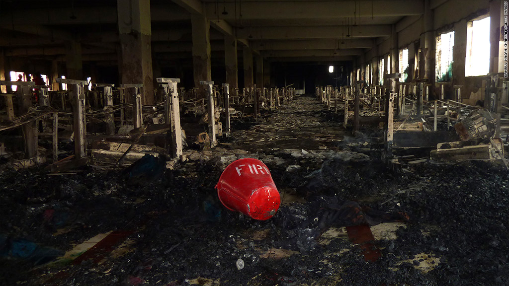 bangladesh factory textile fire