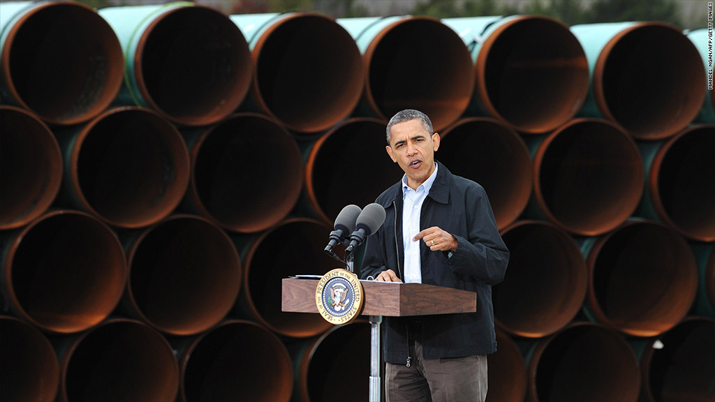 obama keystone xl pipeline