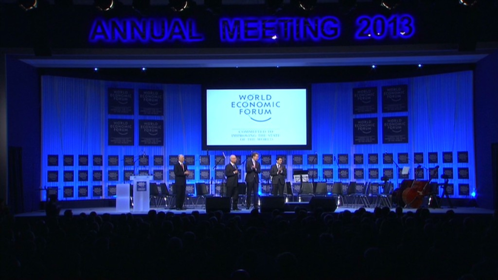 Big issues at Davos 2013