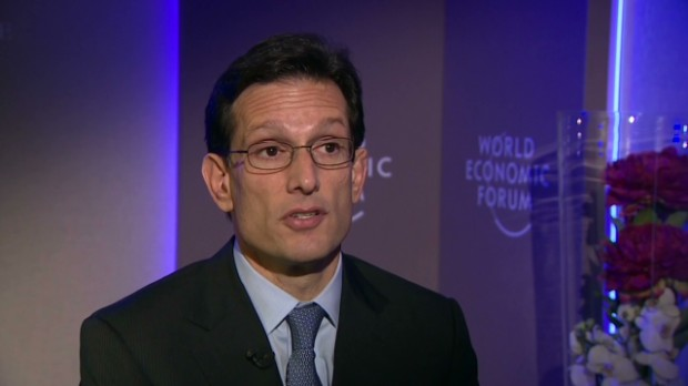 Eric Cantor: Spending is 'the problem'