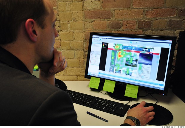 death mouse tobii eye tracking