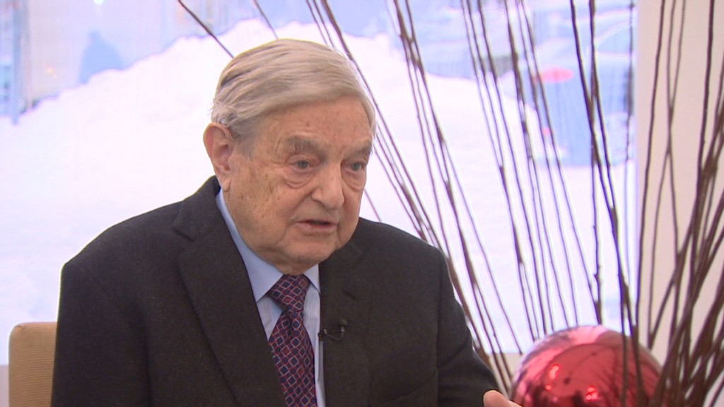 Austerity forcing Europe recession - Soros