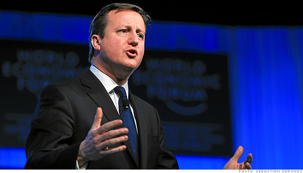 davos cameron us europe trade