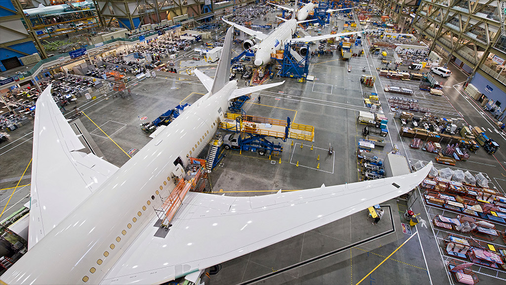 boeing production rate