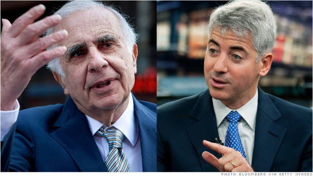 carl icahn bill ackman herbalife