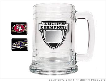 super bowl mug