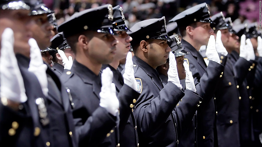 state pension cuts nypd recruits