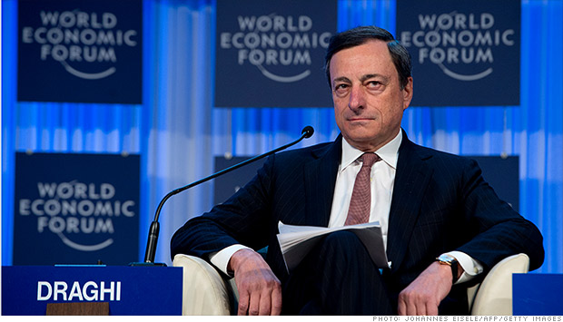 mario draghi eurozone