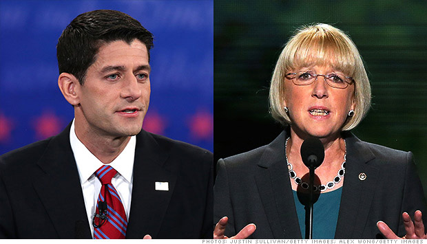 paul ryan patty murray budget committee