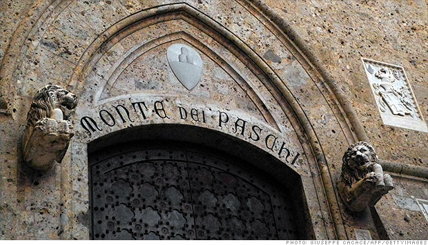 monte dei paschi di siena bank italy