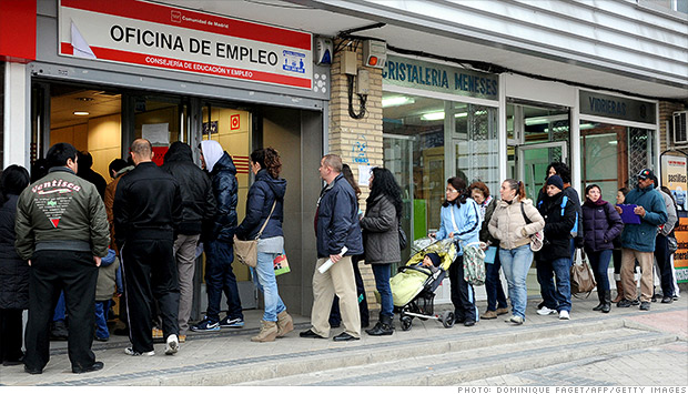 spain recession unemployment