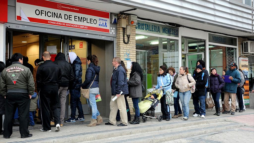 spain recession unemployment
