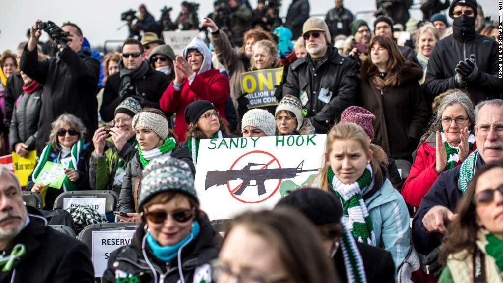 gun control group contributions