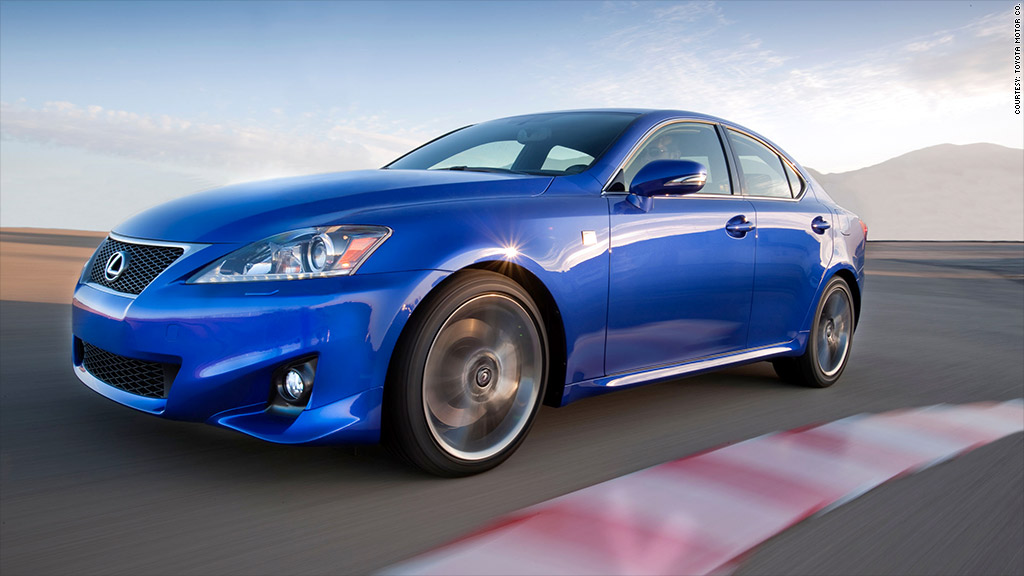 2011 lexus is350 f sport recall