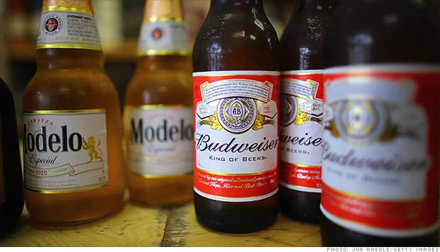 anheuser busch modelo beer