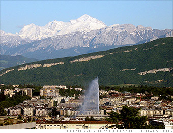 most expensive cities geneva switzerland