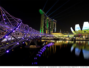 most expensive cities singapore