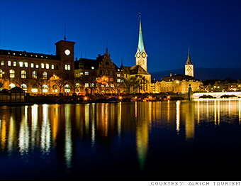 most expensive cities zurich switzerland