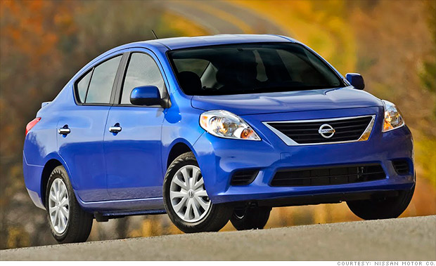 10 cheapest new cars in america nissan versa 1 cnnmoney cheapest new cars in south africa 620x379