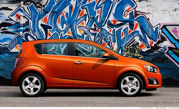 Chevrolet Sonic - 10 cheapest new cars in America - CNNMoney