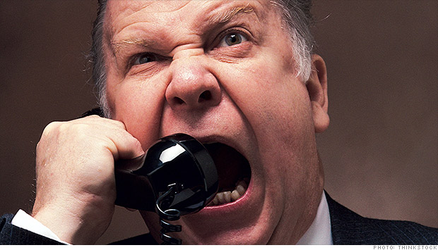 debt collector angry call