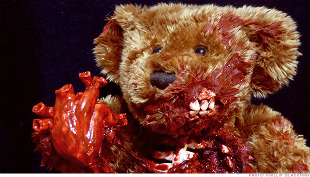 zombie teddy bear undead teds