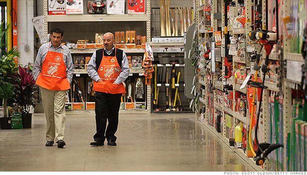 home depot hiring