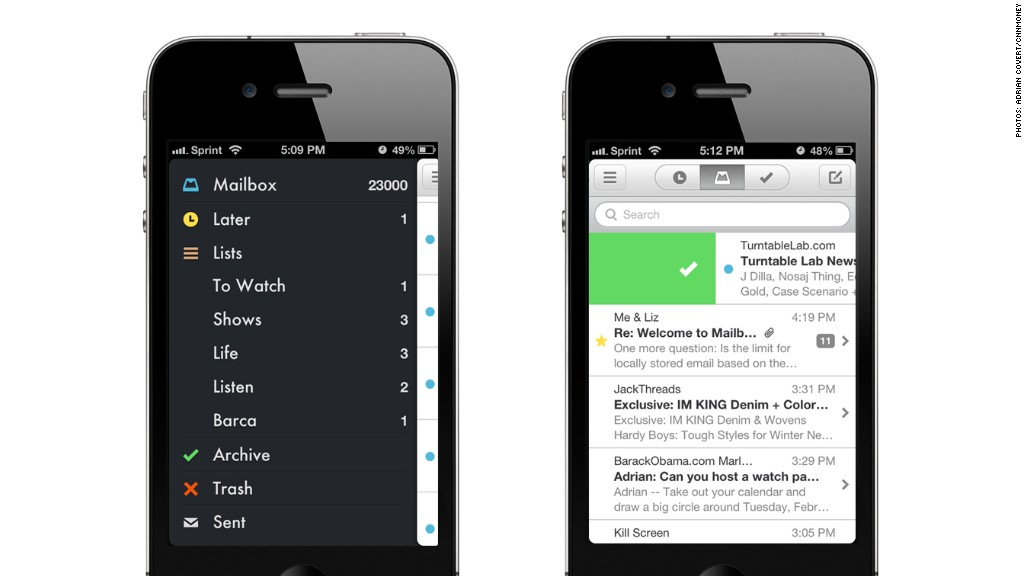 Mailbox for iPhone: The easiest way to manage your Gmail ...