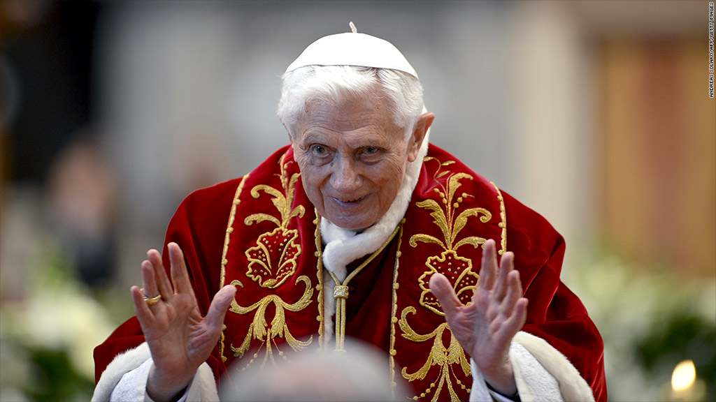 pope benedict finances