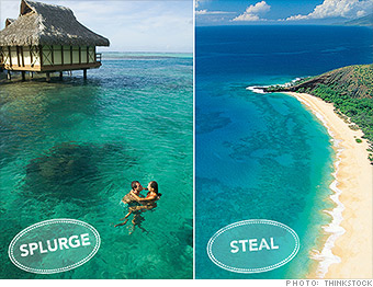 honeymoon hotspots tahiti hawaii