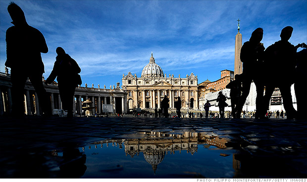 Vatican can take credit cards again