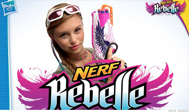 hasbro nerf rebelle
