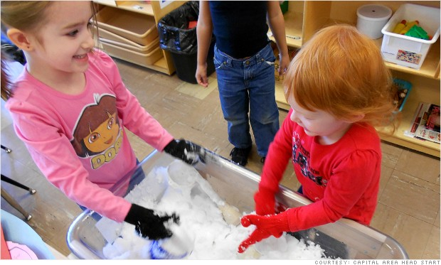 Preschoolers to discover what budget cuts mean