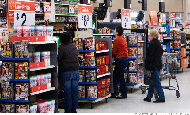 retail sales walmart