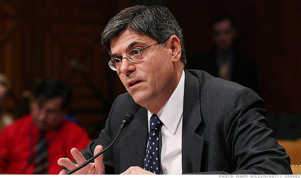 jack lew confirmation hearing