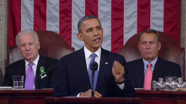 Obama's State of the Union in 99 secs