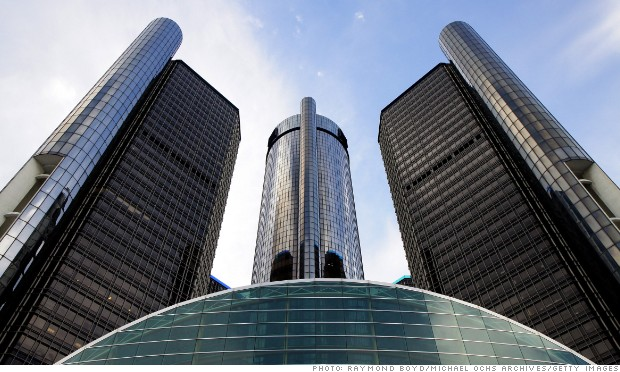 gm headquarters detroit