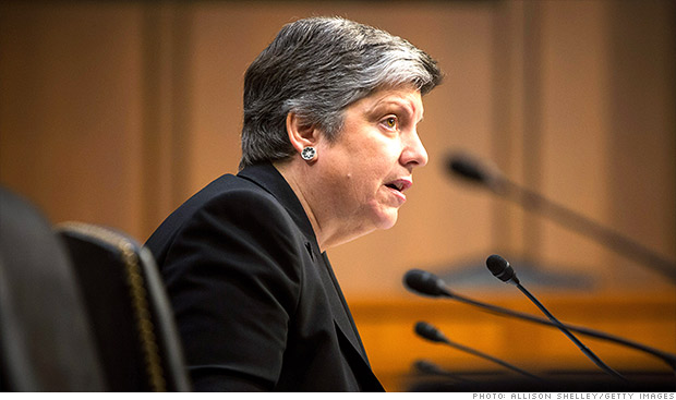 janet napolitano sequestration